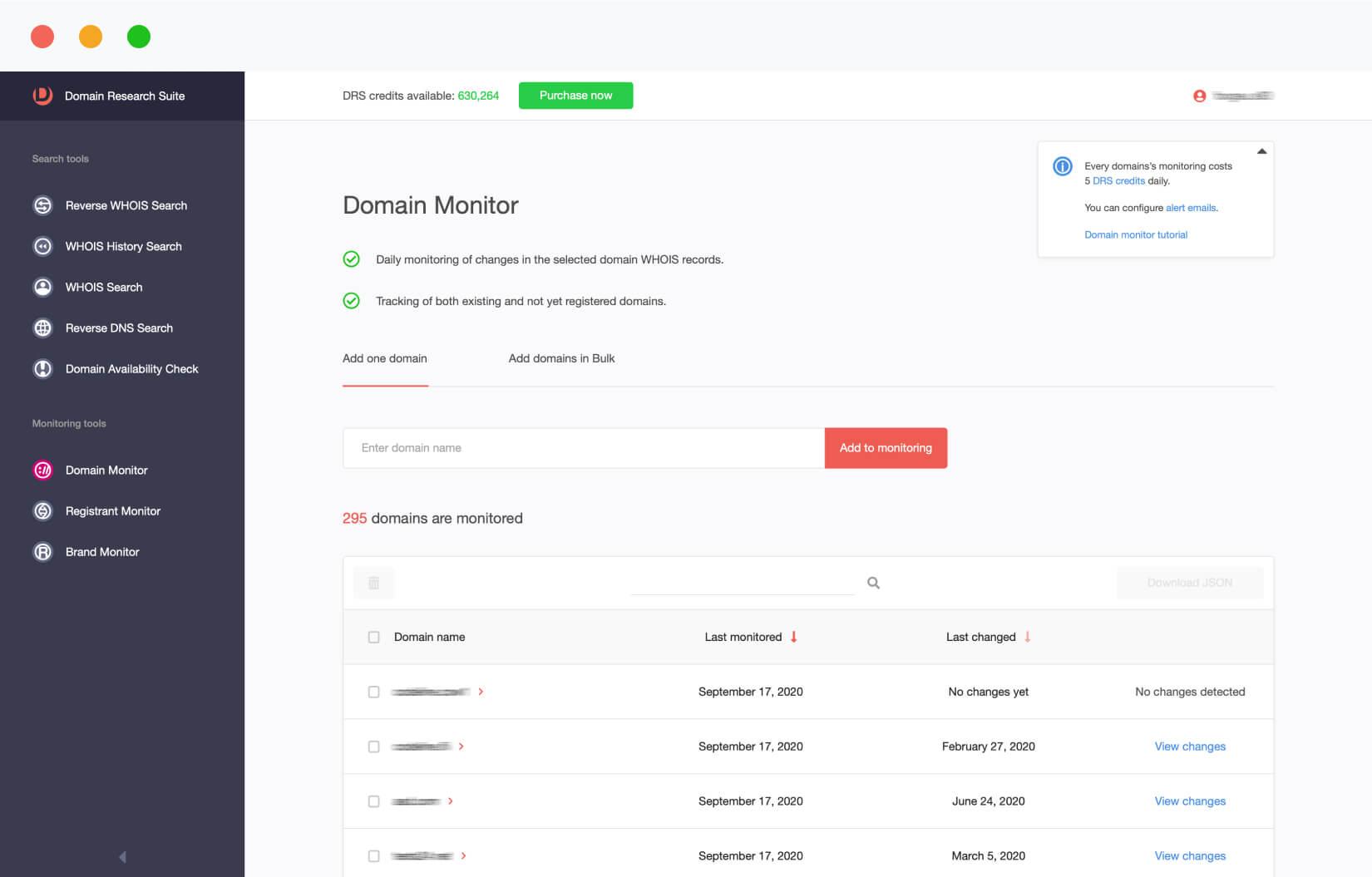 Domain Monitor
